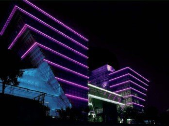 Led Building Lighting And Decoration Sistem Dizayn