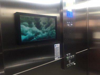 Asansör İçi LCD Ekranlar