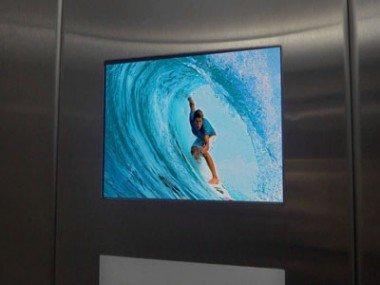 Gömme Tipi Asansör İçi Ekran