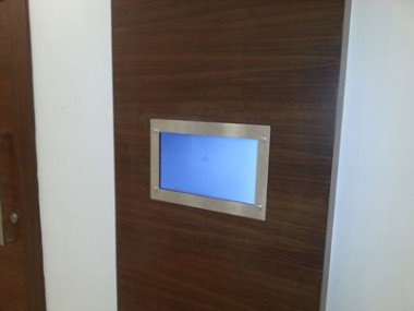 Gömme Tipi Asansör İçi Ekranlar