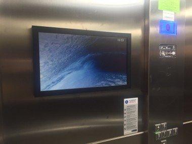 LCD Ekranlar Asansör İçi