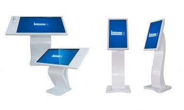 Kiosk bilgilendirme ekranları