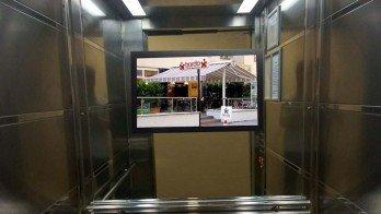 Duvara Monte Asansör İçi LCD Ekran
