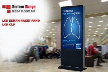 LCD Totem & LCD Raket Tabela Clp