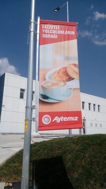 Pole Banner - Elektrik Direği Reklam