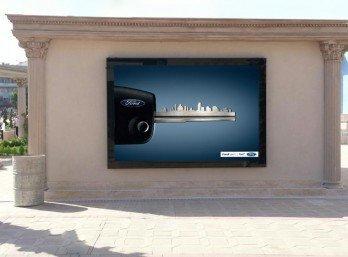 7 m2 Duvar Tipi Sabit Posterli Megalight
