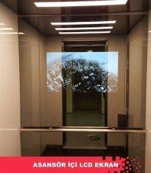 Asansör İçi LCD Ekran