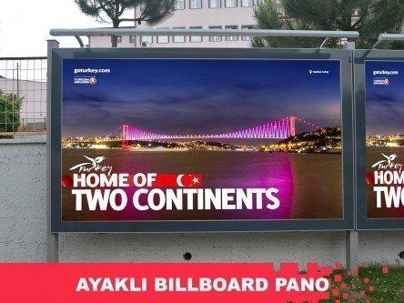 Ayaklı Billboard Pano
