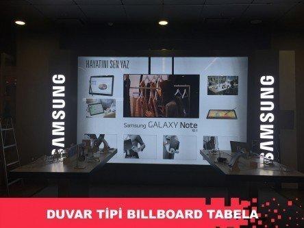 Duvar Tipi Billboard Tabela