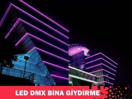 LED DMX RGB Giydirme