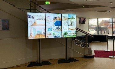 digital signage lcd monitorler