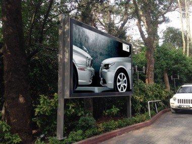 Afiş Değiştiricili Billboard