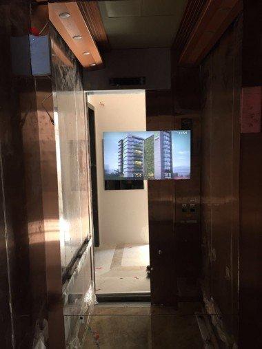 Asansör İçi LCD
