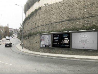 Duvar Tipi Sabit Posterli Billboard