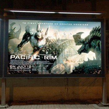 Ayaklı Sabit Posterli Billboard Tabela